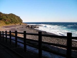 伊豆大島のボルダー